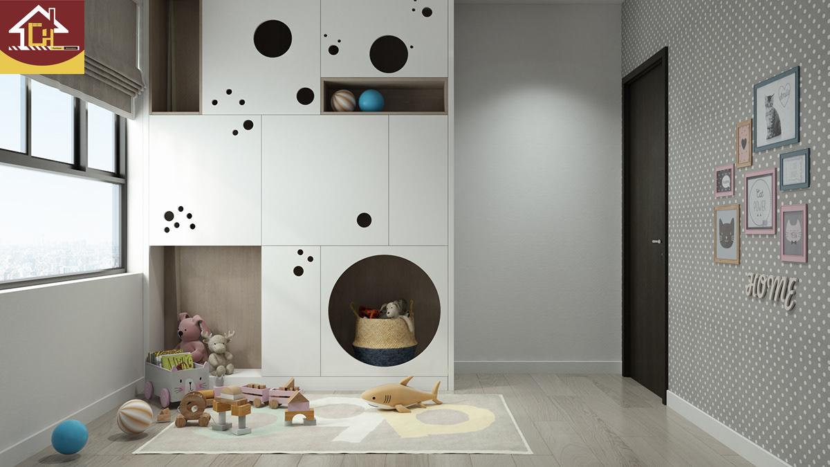 Thiết kế nội thất căn hộ 2 ngủ tại chung cư Vinhomes Symphony