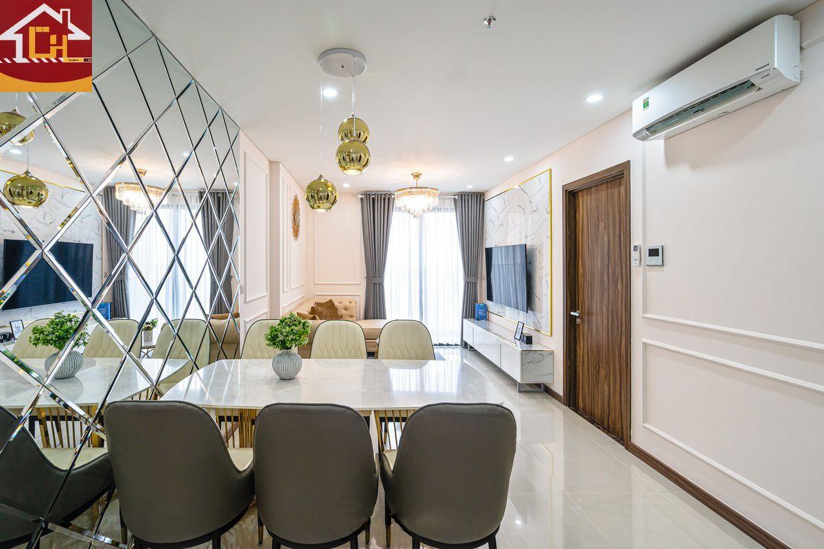 Thiết kế nội thất căn hộ chung cư Ngoại Giao Đoàn